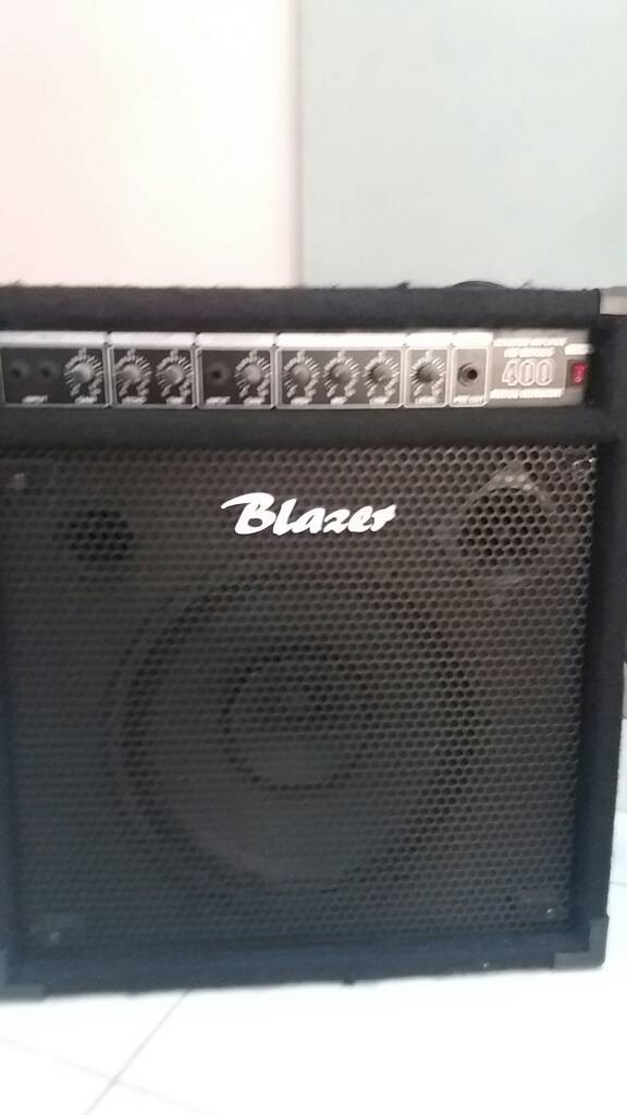 harga Amplifier blazer kb400 speaker 12  inp keyboard/drum elektrik.mic 2ch Tokopedia.com