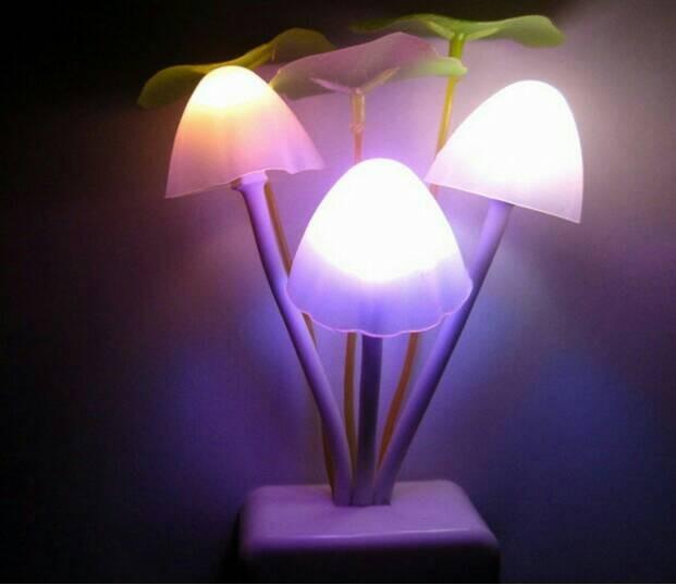 HHM115 - Lampu tidur unik bentuk jamur, Lampu malam