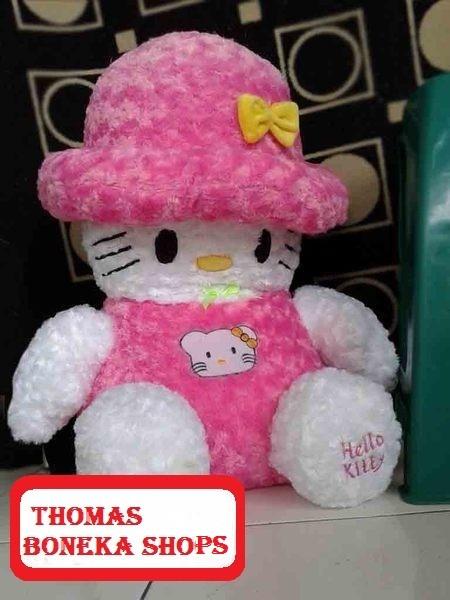 Jual Boneka Hello Kitty Topi Lucu Jumbo Besar Murah - Thomas Boneka ... 7c0c56b40d