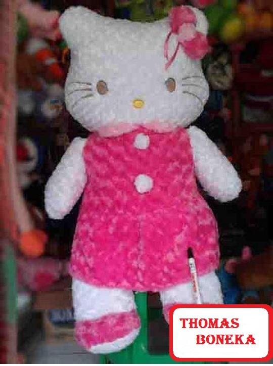 Jual Boneka Hello Kitty Lucu Jumbo Besar Murah Warna Pink Fanta ... b70317e16c