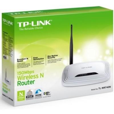 Foto Produk TP-LINK TL-WR740N 150Mbps Wireless N Router dari Raymond Mall