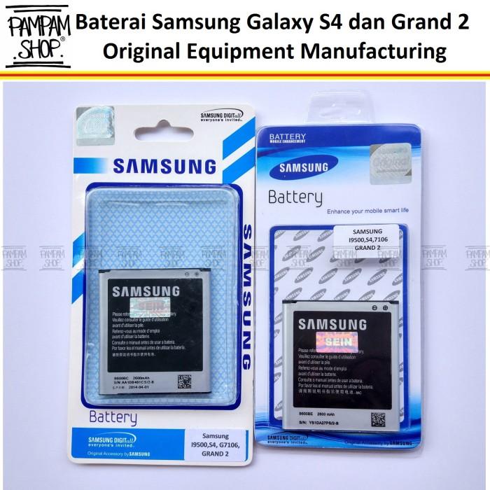 harga Batre / baterai / battery / batrai handphone samsung s4 i9500 ori Tokopedia.com