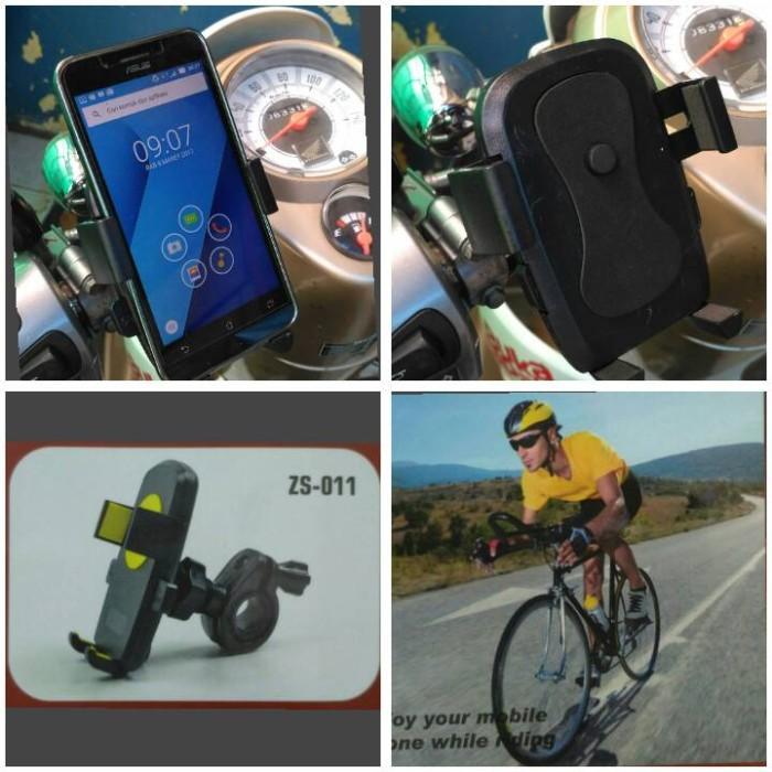 harga Holder sepeda / motor sistem jepit stang dudukan hp stand handphone Tokopedia.com