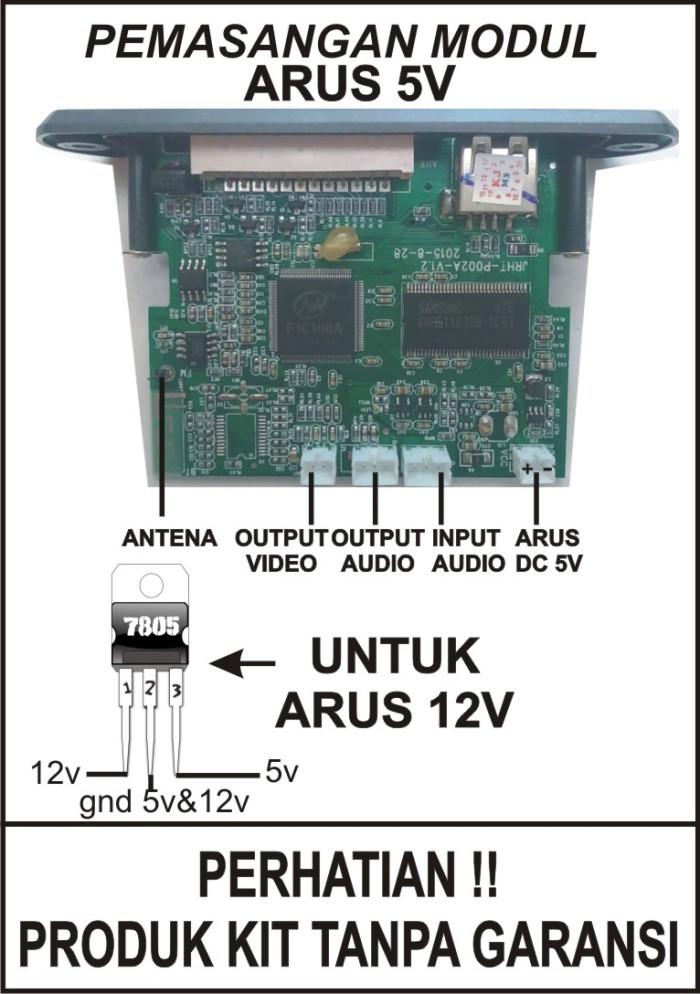 Jual Modul Kit Digital Video Player MP3 MP4 MP5 FM USB TERMURAH - Kota  Surakarta - mastergroup | Tokopedia