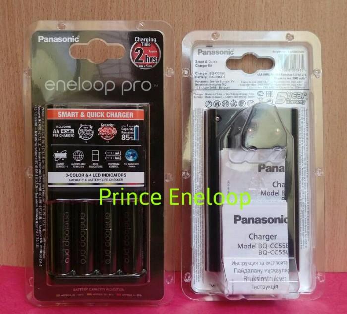 harga Panasonic smart & quick charger pro 4pcs aa 2550 mah ( 500 cycles ) Tokopedia.com