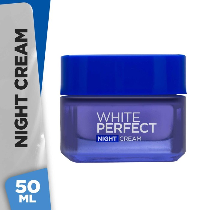 harga L'oreal paris white perfect night cream Tokopedia.com