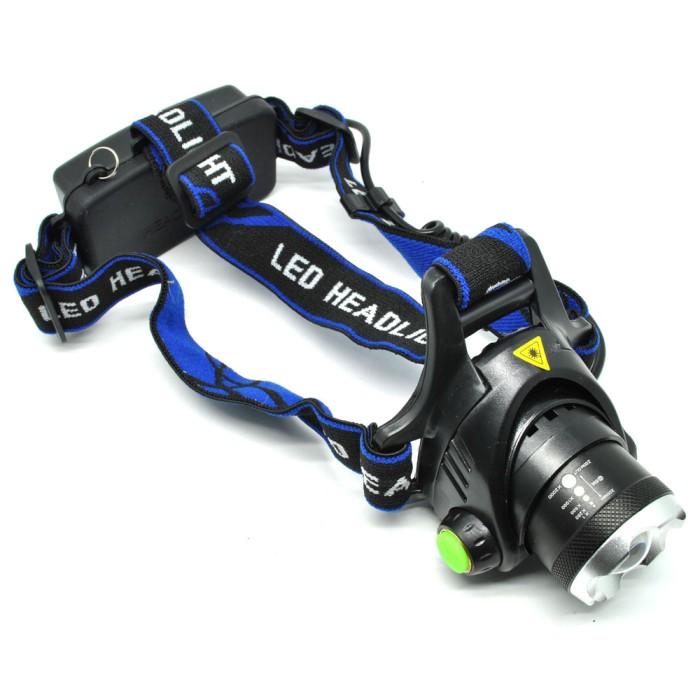 harga High power headlamp led cree hitam Tokopedia.com
