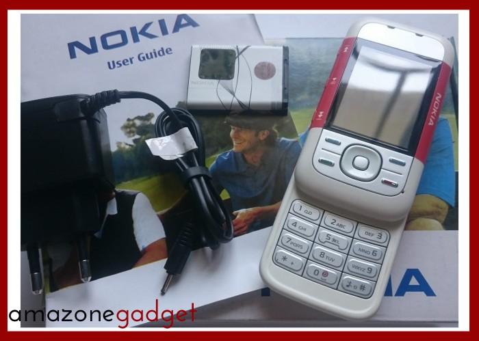Foto Produk [Promo] Nokia 5300 XpressMusic Xpress Music Red | Nokia Jadul ORI | HP dari Amazone Gadget