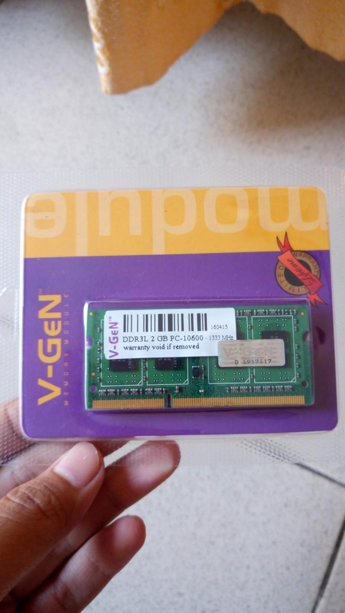 Jual Ram Laptop Kingston Vgen Ddr3 2gb Pc 10600 12800 Sodimm Ddr 3