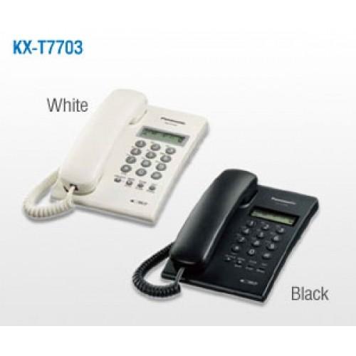 Foto Produk Telpon Telephone Panasonic KX-T7703 - Hitam dari Kudos Trading