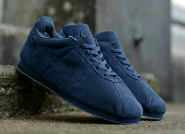 Deambular interferencia Referéndum  Jual Nike Cortez cholo navy 39-43 - Kota Bandung - Anomali_Store   Tokopedia