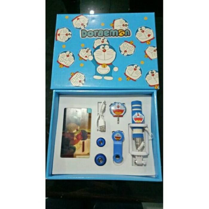 paket powerbank karakter / paket powerbank doraemon 8800mah / pb