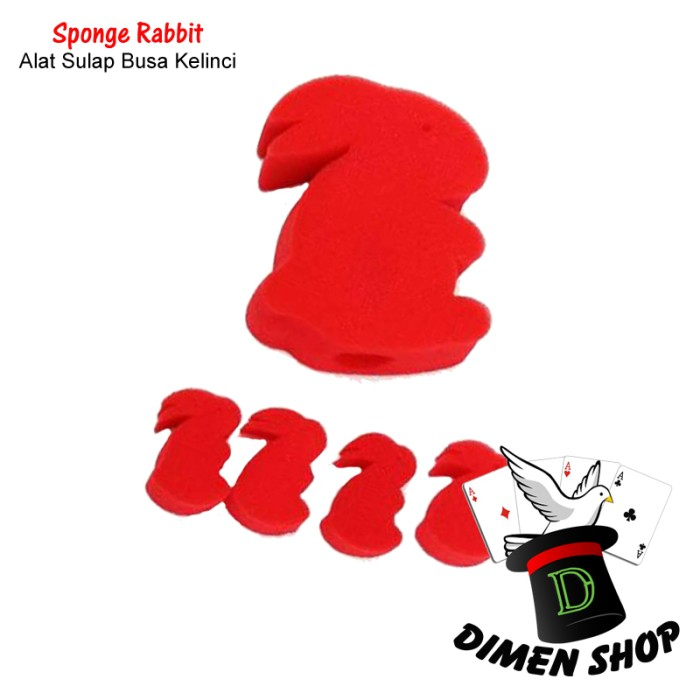 Sponge Rabbit | Alat Sulap | Close Up | Magic|Kelinci Busa| Dimen Shop