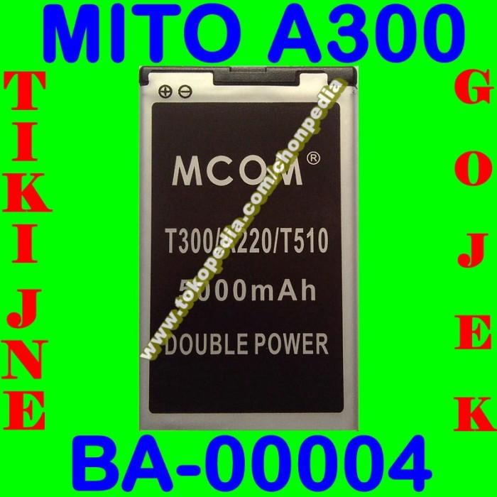 Baterai mito a300 ba00004 mcom m com batrai batre battery batere