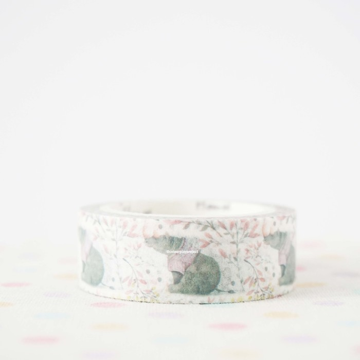 harga Paper/decorative/masking/washi tape - selotip kertas motif 15mm x 7m Tokopedia.com