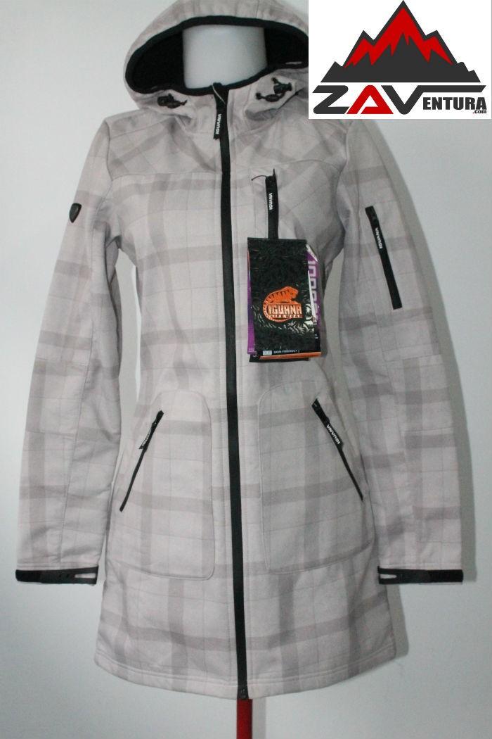 harga Jaket outdoor parka wanita - iguana softshell aquatrail white Tokopedia.com