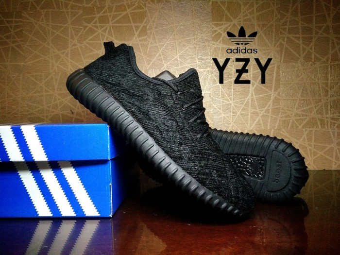 96422d5a880 Jual sepatu sneaker adidas yeezy boost 350 pirate black   casual ...