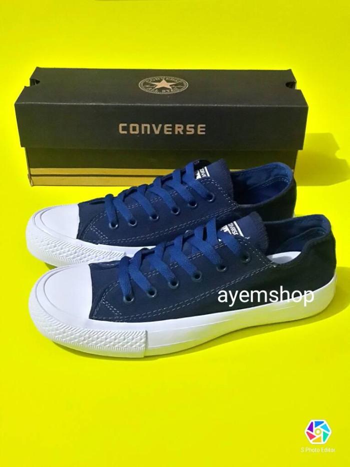 Sepatu converse all star chuck taylor ii navy blue   biru dongker 94c1d20bed