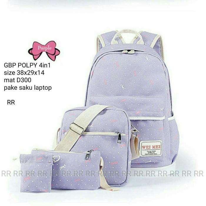 Foto Produk Backpack 4in1 polky dari Then4Shop