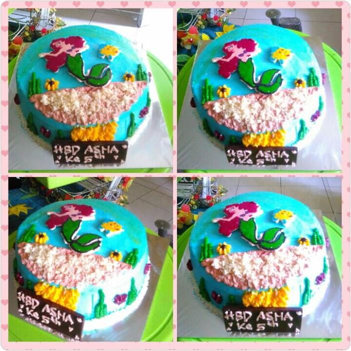 Jual Birthday Cake Characterkue Ulang Tahun Karakter Bulat 20cm