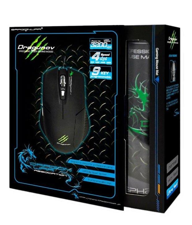 Foto Produk Dragon War Dragunov Gaming Laser Mouse - DRW-ELE-G3 dari Audio Nation