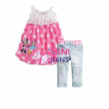 Foto Produk Pakaian Anak - Baju Setelan Anak Perempuan (MJ 396) 2-7 Tahun dari Carol R. Duncan Store
