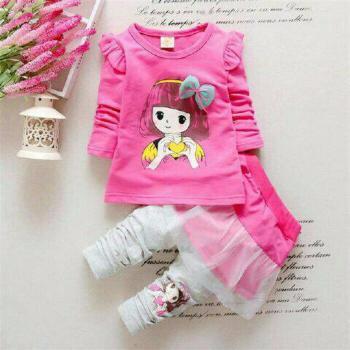 Foto Produk Setelan Baju Anak Cilure Pink Kids dari Carol R. Duncan Store
