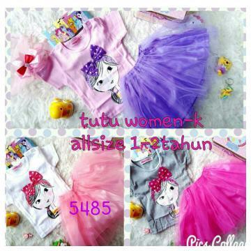 Foto Produk JA217 Pakaian Baju Setelan Stelan Anak Perempuan Rok Tutu dari Carol R. Duncan Store