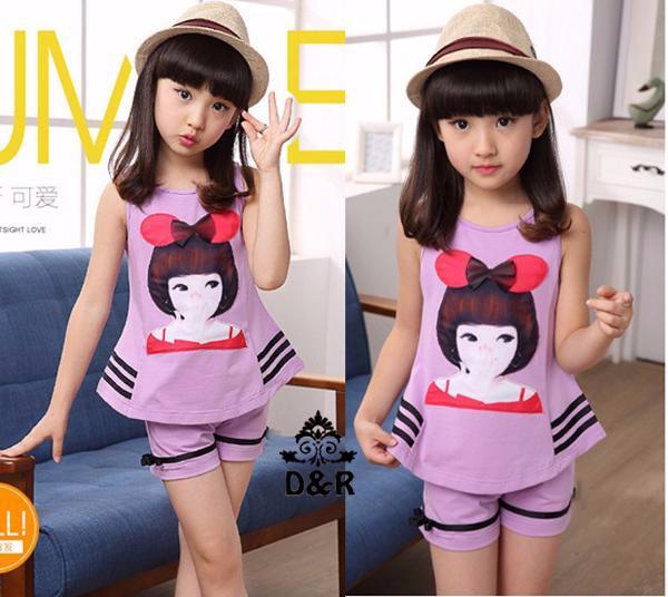 Foto Produk Baju Anak Perempuan   Pakaian Anak   st purplekids DR setelan anak per dari Carol R. Duncan Store