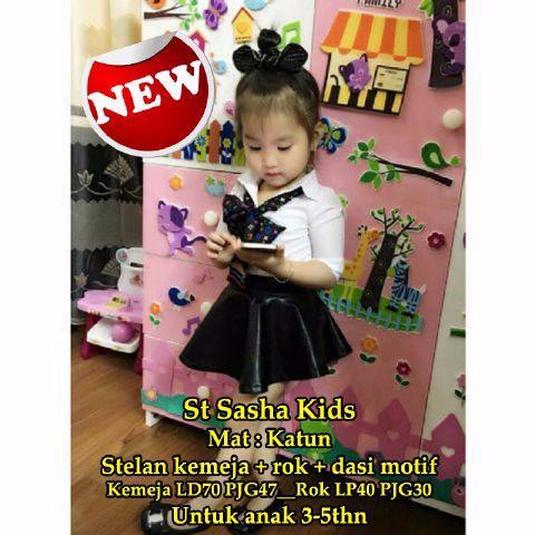 Foto Produk Baju Anak Perempuan | Pakaian Anak | St Sasha Kid 3x1 SW setelan anak dari Carol R. Duncan Store