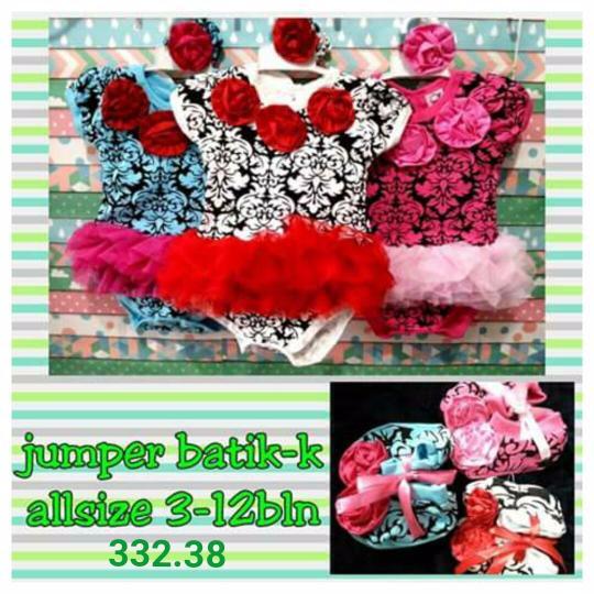 Foto Produk jumper bayi perempuan set 3 in 1 batik dari Carol R. Duncan Store
