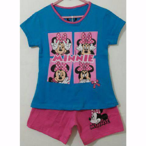 Foto Produk Baju Kaos Anak Set.Minnie Gliter Sz 1-6t dari Carol R. Duncan Store