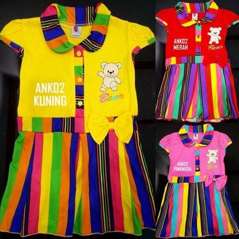 Foto Produk Grosir dan eceran baju anak cewek usia 1,2 dan 3 tahun ank02 dari Carol R. Duncan Store