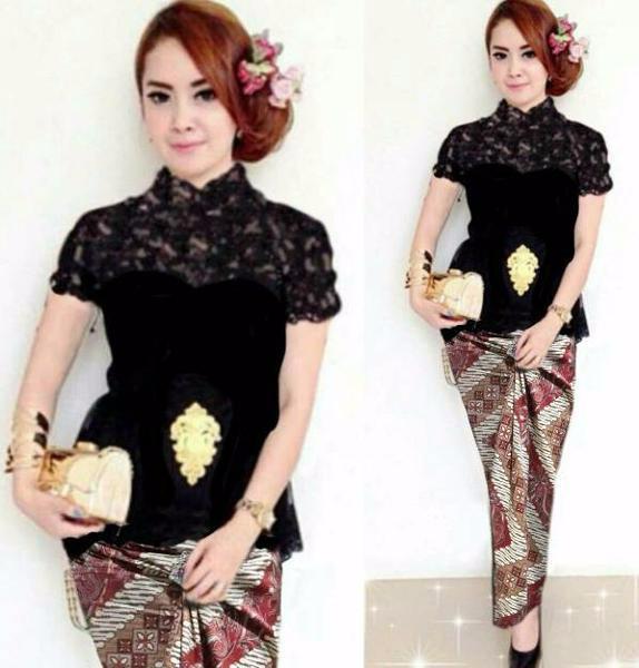 Foto Produk Setelan Kebaya Batik Syahrini Limited dari Carol R. Duncan Store