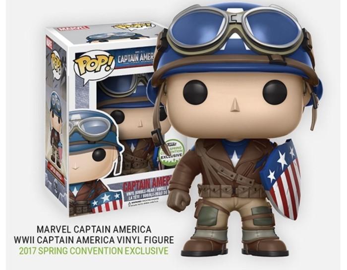 harga Funko POP Marvel - Captain America (WWII) (ECCC Exclusive) #219 Tokopedia.com
