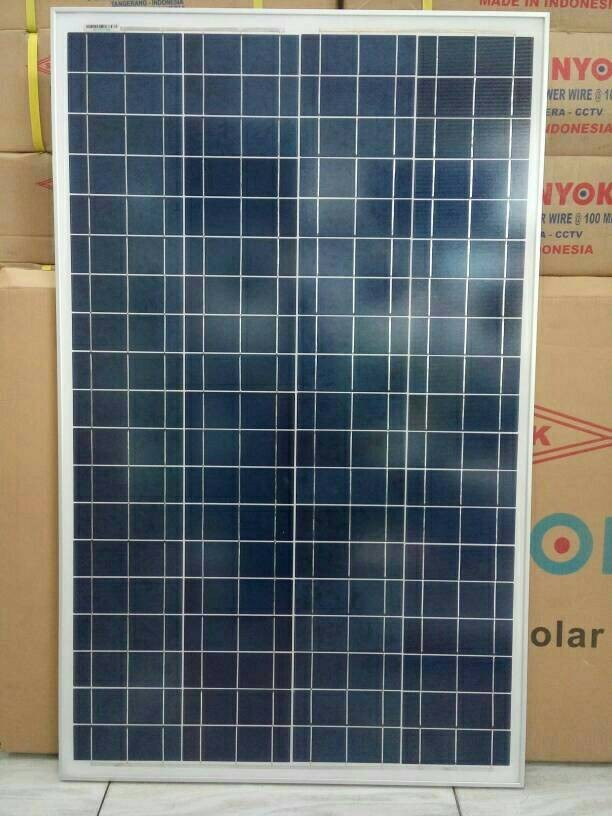 harga Solar panel / solar cell / panel surya shinyoku 100wp poly Tokopedia.com