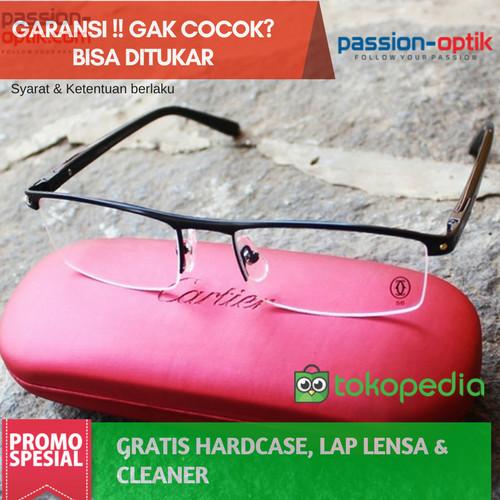 Jual Frame Kacamata Cartier 8100815 - Kualitas Premium - Passion ... 3429eef2b3