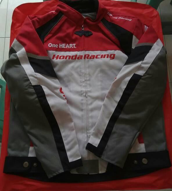 harga Jaket honda racing ori dan body protector Tokopedia.com