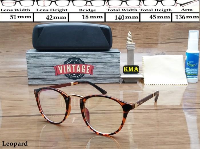 Kacamata Minus Frame Kacamata Korea Classic Kacamata Vintage Bulat