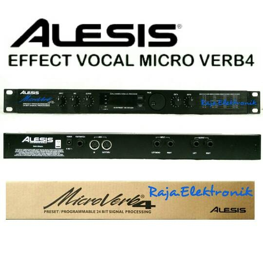 jual effect vocal alesis microverb4 digital reverb efek vokal processing liuz elektronik. Black Bedroom Furniture Sets. Home Design Ideas