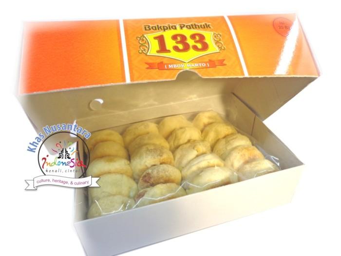 harga Bakpia pathuk kering ^ patuk 133 [isi 20]: keju, kacang ijo, telo ungu Tokopedia.com