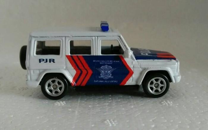 harga Miniatur mercy jeep polisi indonesia pjr Tokopedia.com
