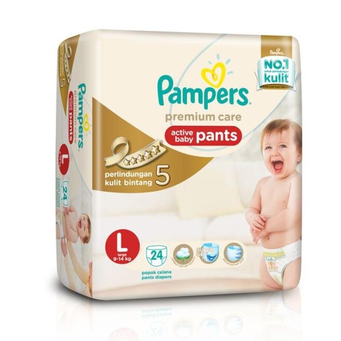 harga Pampers premium l24 Tokopedia.com