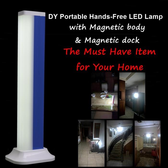 harga Portable lampu led biru emergency sos mobil rumah (dy-yj008l) Tokopedia.com