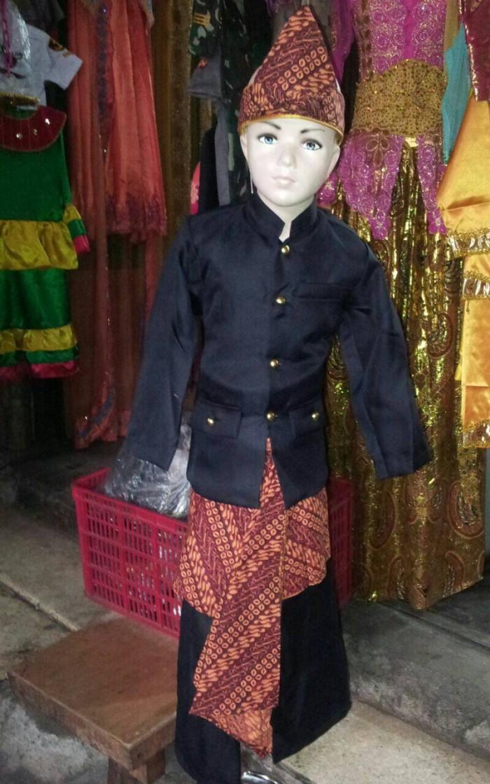 Jual Pakaian Baju Adat Jawa Barat Baju Adat Sunda Iket Batik M Jakarta Barat Love Babies N Kidz Tokopedia