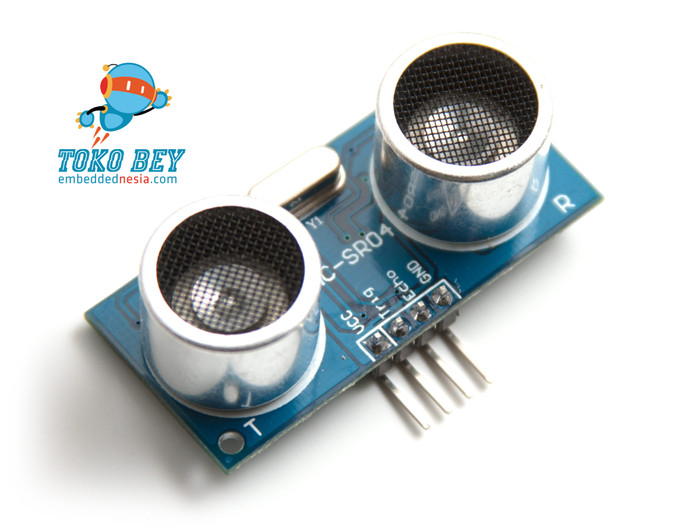 Foto Produk HC-SR04 HCSR04 Distance Sensor - Sensor Jarak Ultrasonik dari TOKO BEY