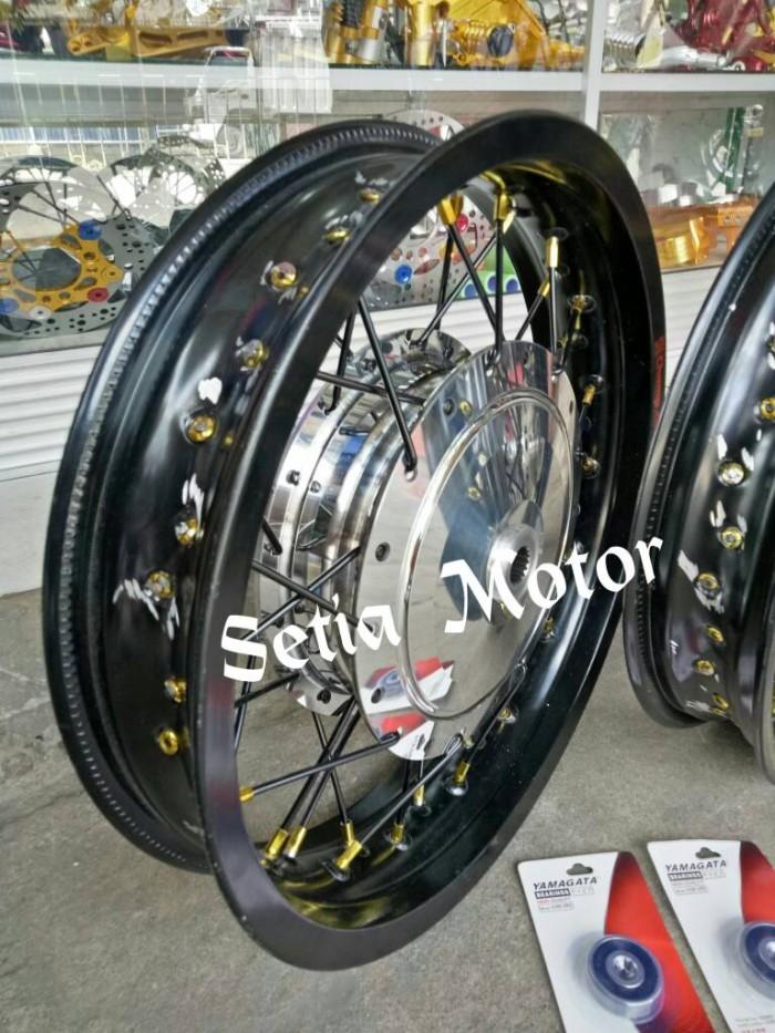 harga Velg jari jari ring 14 tapak lebar motor nmax / pcx 150 sepaket bonus Tokopedia.com