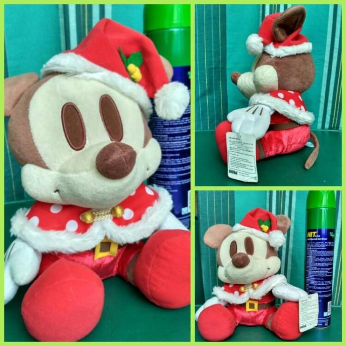 Jual boneka plushdoll import original sega Disney Mickey Mouse Santa ... ebf85001f6