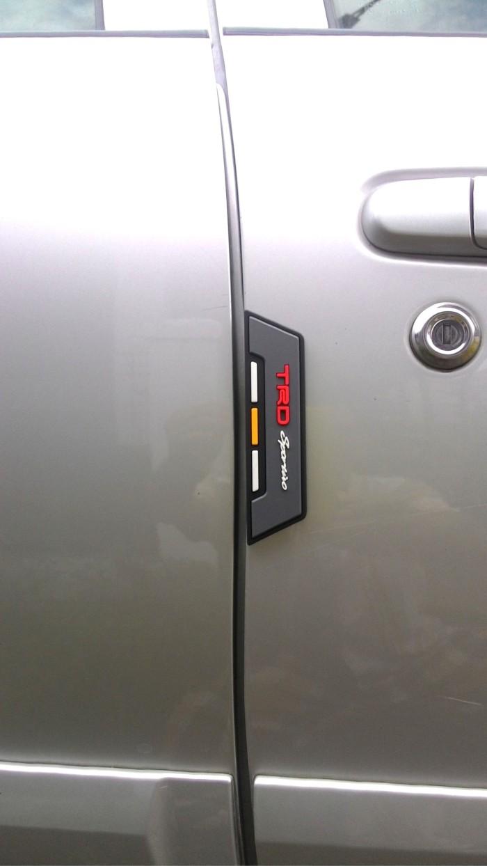 DOOR GUARD MOBIL - DOORGUARD TRD - KARET PELINDUNG PINTU MOBIL