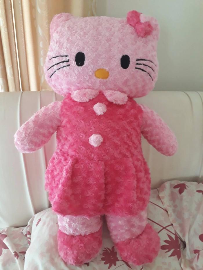 Jual Jual Boneka Hello Kitty   HK Pink dan Putih Ungu Jumbo 1 Meter ... 846df5cb39